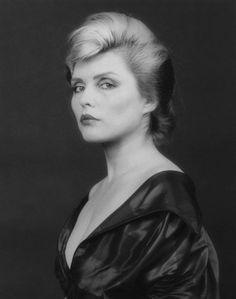 """Debbie Harry photographed by Robert Mapplethorpe, 1982 """