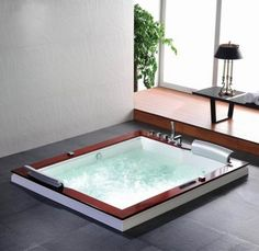 autme 029 2 person indoor hot tub with jet surf bathtub inserts japanese tub buy japanese tub. Black Bedroom Furniture Sets. Home Design Ideas