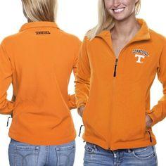 Tennessee Volunteers Women's Athena Full Zip Jacket - Tennessee Orange