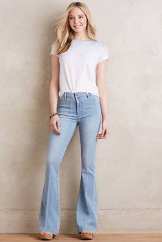 Paige Vintage High-Rise Bell Canyon Jeans
