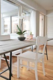 diy home sweet home: 5 Fantastic DIY Dining Table Tutorials.