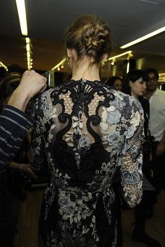 Backstage Dolce & Gabbana Fall 2014 Ready-to-Wear