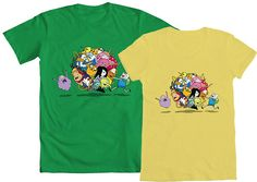 """WE LOVE FINE WEDNESDAY IS TOTALLY MATHEMATICAL!  And while we wait for our awesome Adventure Time contest winners to be announced, repin this post NOW and you are entered into our drawing to WIN a mens' or women's tee of """"Adventure Time Ball,"""" one of our most popular AT tees in the shop!   Repin and WIN! Good luck!"""