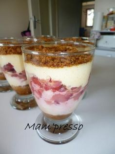 Délice+de+mascarpone+aux+fraises+et+spéculos