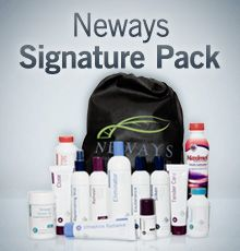 Neways Signature Pack with bathroom essentials and nutritionals. Bathroom Essentials, Packing, Healthy, Free, Products, Health, Bag Packaging, Gadget