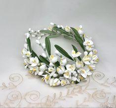 Floral Headpiece, Headpiece Wedding, Bridal Headpieces, Wedding Bride, Bridal Crown, Floral Crown, Bridal Hair Accessories, Porcelain, Boyfriends