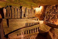 Les Catacombes de Paris (the Catacombs of Paris), Paris, France by Stewart Leiwakabessy, via Flickr