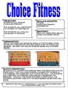 Choice Fitness by Ben Pirillo