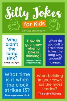 Cute Jokes, Funny Jokes For Kids, Silly Jokes, Good Jokes, Best Kid Jokes, Toddler Jokes, Kids Humor, Cheesy Jokes, Kids Jokes And Riddles