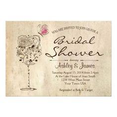 Wine & Cheese Bridal Shower Invitation #WineCountryLiving