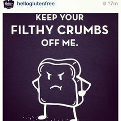 @Christina & Kahler Gluten Free Inspirational tshirts. :) #celiac #celiacdiseaseawareness #glutenfree