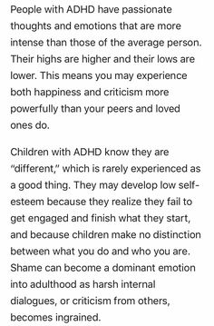 """Defining Features of ADHD That Everyone Overlooks"""""""