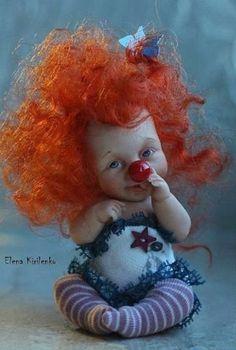 copyrights collectible dolls Elena Kirilenko