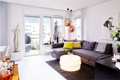 my scandinavian home: An apartment with a penchant for all things Tom Dixon