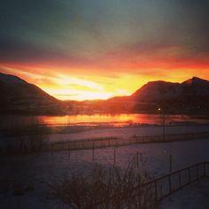Fantastiske Bø, Nordland, Norway ❄️❄️
