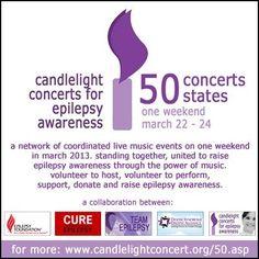 Epilepsy Awareness Concerts!
