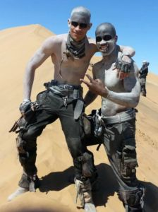 War Boys - Mad Max Costumes  sc 1 st  Pinterest & The set of u201cMad Max: Fury Roadu201d. | Mad Max Fury Road | Pinterest ...