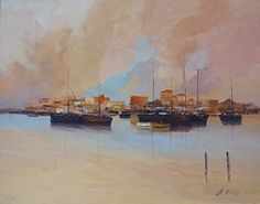 "Saatchi Art Artist Andres Vivo; Painting, ""Nº 4170 Serenity"" #art"