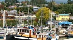 Gibsons split over proposed hotel and condo development (CBC News, 2 October 2015) Shown: The picturesque Sunshine Coast community of Gibsons, B.C., with its quaint harbour, and hillside view homes was the set for the classic Canadian TV series The Beachcombers. (CBC)