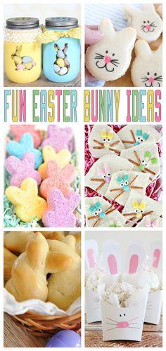 Fun Easter Bunny Ideas - Eighteen25