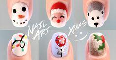 6 diseños de uñas de Navidad paso a paso y sin herramientas, ¡nos encantan!