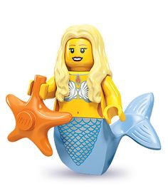 *l* Lego Series 9 - Mermaid