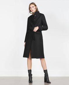 Imagen 1 de ABRIGO CUELLO ALTO de Zara Zara Damen, Zara New, High Collar