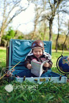 San Antonio Children Photography Luke David Turns 1! » YelloNest