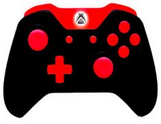 Master Modded Controller Xbox One Red Out