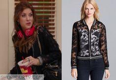 Bad Judge: Season 1 Episode 11 Rebecca's Sheer Floral Blazer