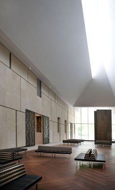 Image 3 of 35 from gallery of The Barnes Foundation / Tod Williams + Billie Tsien. Photograph by The Barnes Foundation
