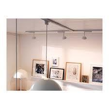 ikea 365 s nda track with spotlights the art studio. Black Bedroom Furniture Sets. Home Design Ideas