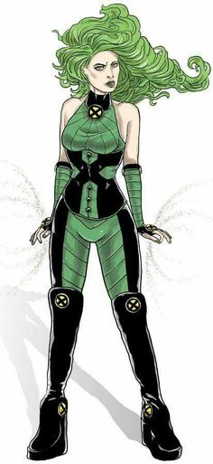 "X-men - Polaris Original Design by ""the Meatball Man"" Marvel Comics, Marvel Heroines, Comic Book Heroines, Comic Books Art, Comic Art, Comic Villains, Book Art, Marvel Women, Marvel Girls"