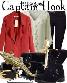 Captain hook outfit!