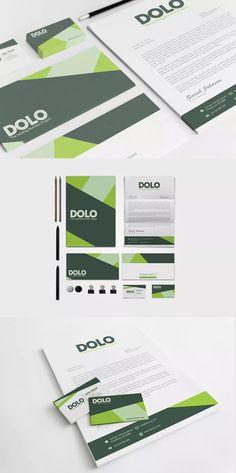 Dolo Corporate Identity Template PSD