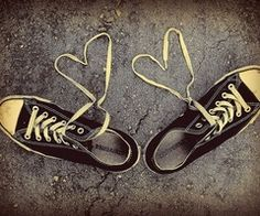 Got to love the comfort of Converse Cool Converse, Converse All Star, Converse Shoes, Like A Shooting Star, Lace Heart, Favim, Chuck Taylors, Gladiator Sandals, Ballet Flats