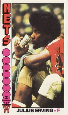 Dr. J...in the ABA  one of my favorite basketball cards ever