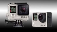 GoPro goes faster and further with its new Hero4 Black and Silver