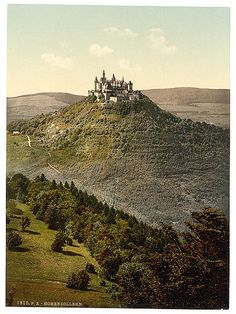 The castle, Hohenzollern, Germany - Date Created/Published: [between ca. 1890 and ca. 1900] Library of Congress Prints and Photographs Division Washington, D.C. 20540  Photochrom Prints Collection