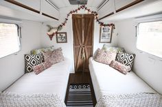 Airstream Twin Bedroom Remodel Part 1 Airstream Remodel, Airstream Renovation, Airstream Interior, Vintage Airstream, Airstream Trailers, Travel Trailers, Rv Travel, Airstream Living, Caravan Living