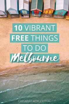 Tour Melbourne's cultural sights for FREE! 10 Vibrant Free Things to do in Melbourne, Australia Brisbane, Sydney, Perth, Australia Travel Guide, Visit Australia, Melbourne Australia, Western Australia, Australia Destinations, Australia Trip