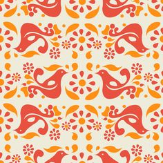Peace, Love, and Pyrex fabric by mandasisco on Spoonflower - custom fabric