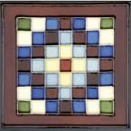 Solistone Hand-Painted Cuadros Deco 6 in. x 6 in. Ceramic Wall Tile (2.5 sq. ft. / case), Multi