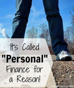 """It's called """"personal"""" finance for a reason Credit, Credit Scores, Credit Repair #credit #creditscore"""