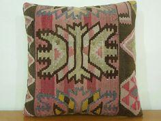turkish pillow - kilim pillow - turkish cushion $58.00