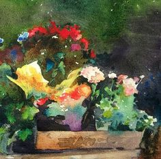 Summer Color, painting by artist Mary Maxam