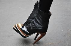 Proenza by Jak and Jil. With names like that behind it, this shoe couldn't be anything but epic even if it wanted to.