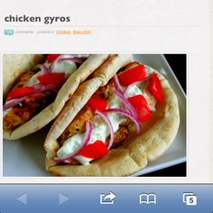 Click link to get recipe http://annies-eats.com/2009/06/02/chicken-gyros/