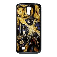 Samsung Galaxy S4 I9500 Black Case - Tardis,Blue British Police Box,Doctor Who Vincent Van Gogh Galaxy S4 Protective Hard Case - Aozzo, http://www.amazon.com/dp/B00D78UD18/ref=cm_sw_r_pi_awd_vhAdsb0V6QESF