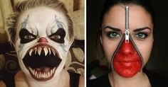 """Résultat de recherche d'images pour """"maquillage halloween"""""""